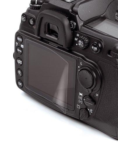 Kaiser Fototechnik Antireflex Displayschutzfolie für Nikon D7100 inkl. Folie für Info-Display