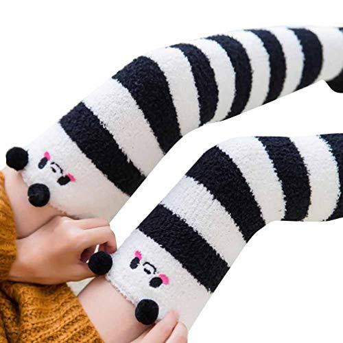 Socks, FORUU Sales 2018 Winter Warm Under 10 Best Gift Women Girl Winter Over Knee Leg Warmer Soft Cotton Leggin