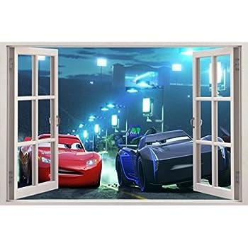 Amazonm Cars Movie 3 Mcqueen Jackson Storm 3d Window. Solid Steel Doors. Jeep 4 Door Wrangler Used. French Closet Doors. Tub Sliding Doors. Garage Door Indianapolis. Diy Garage Storage Shelves. Garage Wood Workbench. Exterior Garage Light Fixtures