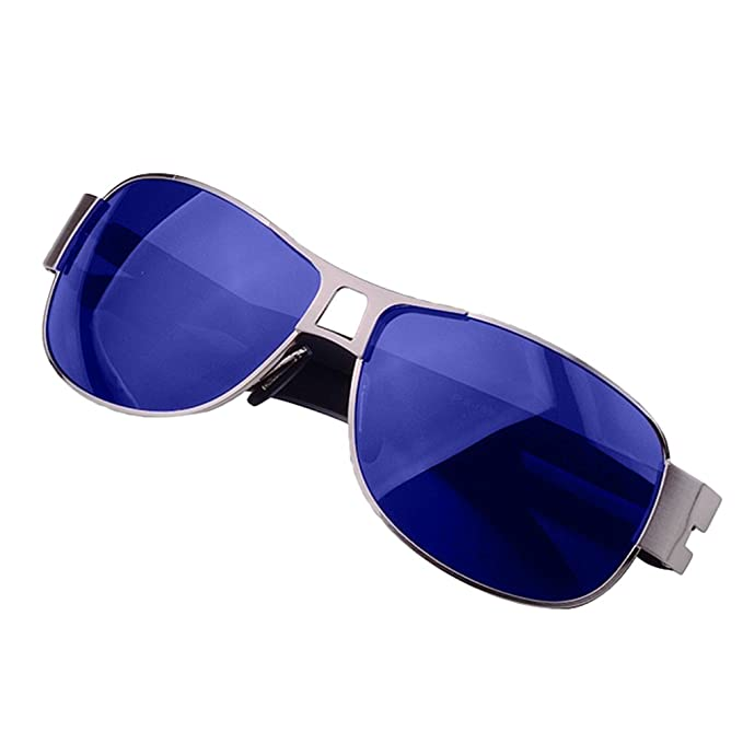 LINNUO Gafas de Sol Hombre Mujer Aviador Polarizadas Lente ...