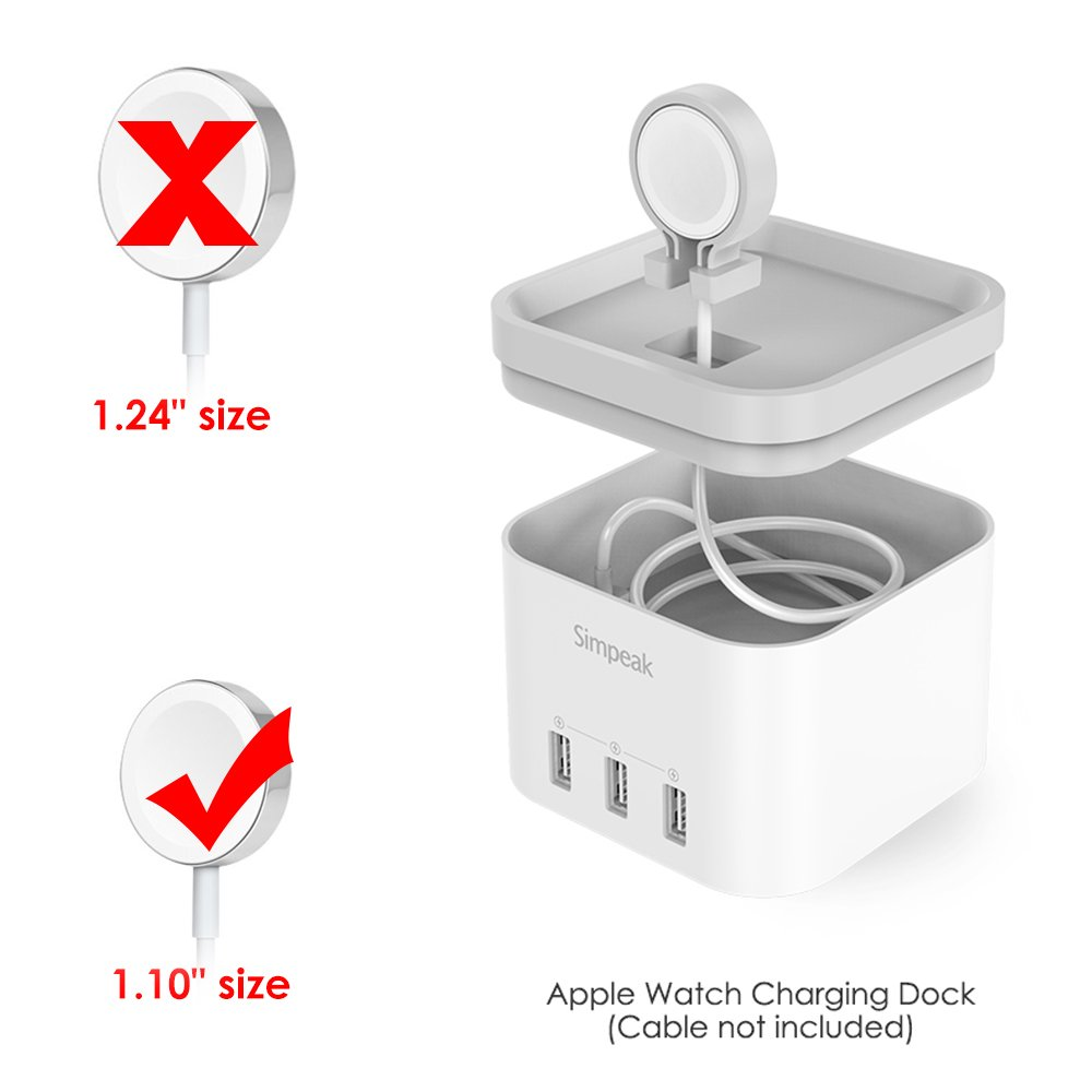 Amazon Simpeak 4 Port Usb Charger Stand For Apple Watch 123