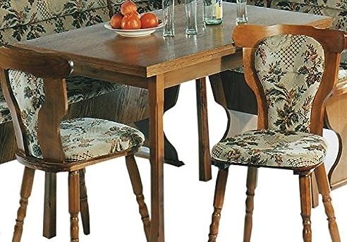 Küchentisch Ausziehbar Auf 160x60cm Eiche Rustikal P43   Esstisch Eiche    (2536)