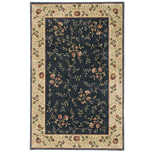 St05 Rose - Nourison Somerset (ST05) Rose Rectangle Area Rug, 5-Feet 3-Inches by 7-Feet 5-Inches (5'3