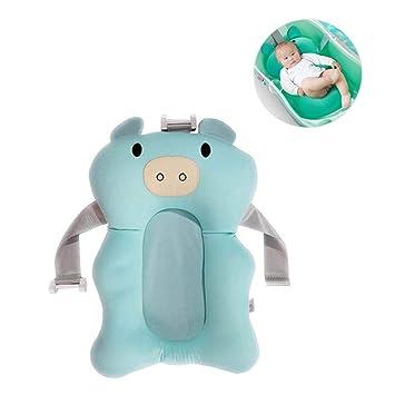 Baby Bath Cushion Newborn Baby Bath Pillow Mat Infant Sponge Shower Pad Seat