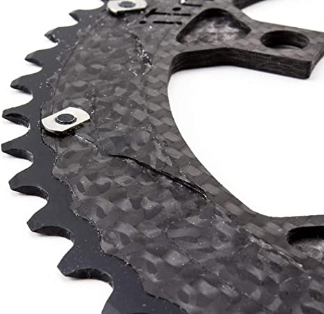 Carbon-Ti X-CarboRing BCD110 x 5 Bolts Bicycle Outer Chainring 50T//52T//53T