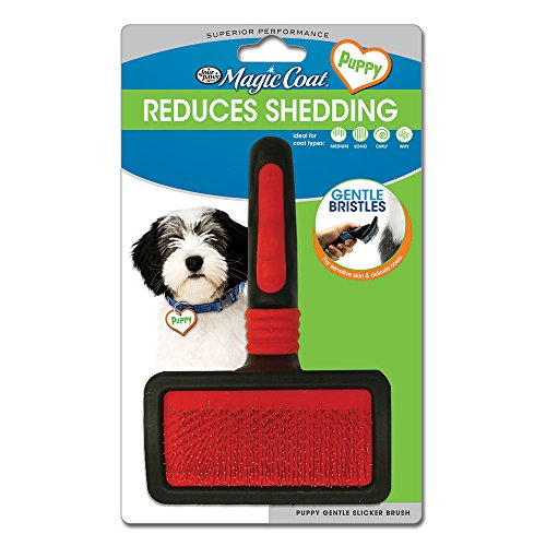 - Four Paws Magic Coat Puppy Gentle Slicker Brush