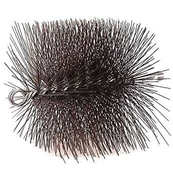 11'' Square Wire Chimney Brush by Woodeze