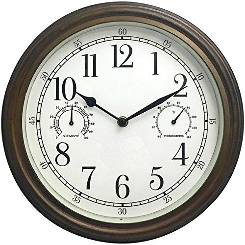 Westclox 33027 Wall Clock, Multicolor