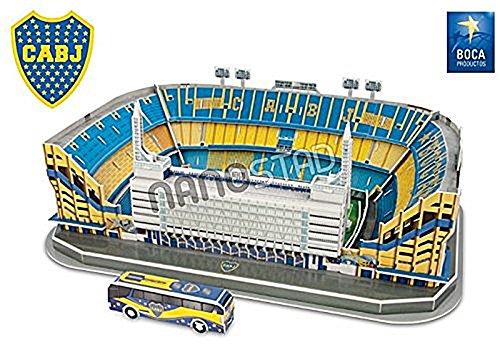 Bombonera Stadium Boca Jr. Nanostad Puzzle 3d by Nanostad