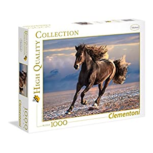 Clementoni 39420 High Quality Collection Puzzle Free Horse 1000 Pezzi