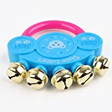 Homlifer Kids Baby Design Handbell Musical