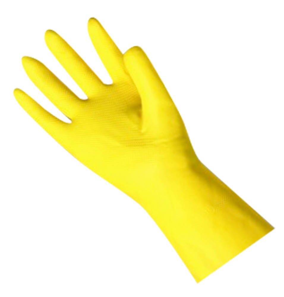 Kingfisher 2 Pairs of Household Latex Rubber Gloves Large