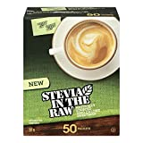 Stevia In The Raw Natural Sweetener 50 Packets