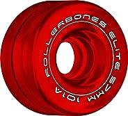 Rollerbones Art Elite 101A Competition Roller Skate Wheels (Set of 8)