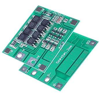 icstation 12 V 30 A 3S batería de litio Junta de Protección PCB ...