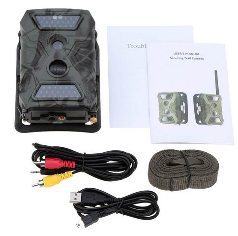 HKCYSEA 【NEW VERSION】S680 Outdoor Trail Camera HD Game&Hunting Camera with Upgrading 40Pcs IR LEDs Night Vision Fast Trigger Speed IP54 Water Protected Design Support SD Card by HKCYSEA (Image #3)