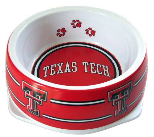 Sporty K9 Collegiate Texas Tech Red Raiders Pet Bowl, Large