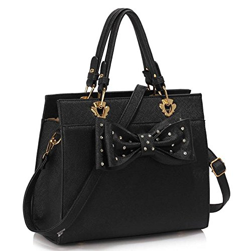 cute handbags with bows coofit lady handbag little bow