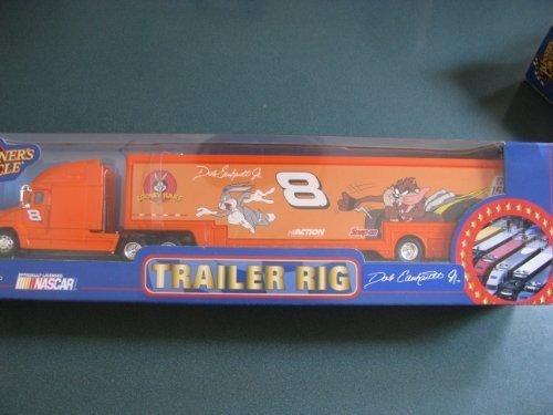 2002 Dale Earnhardt Jr #8 Looney Tunes Gossemer Hauler Trailer Transporter Semi Tractor Rig Truck 1/64 Scale Winners Circle by Winners Circle