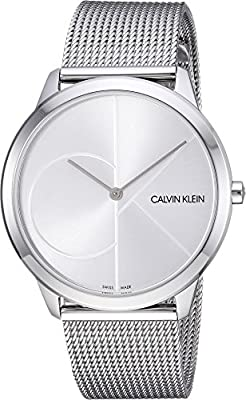 Calvin Klein Mens Minimal Watch - K3M2112Z