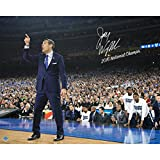 Steiner Sports Jay Wright Signed Sideline Point 2016 National Championship Game 16x20 Photo w/ ''2016 National Champs'' Insc