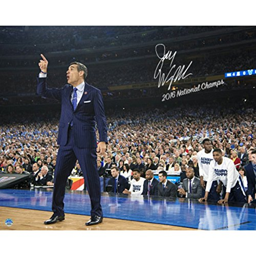 Steiner Sports Jay Wright Signed Sideline Point 2016 National Championship Game 16x20 Photo w/ ''2016 National Champs'' Insc by Steiner Sports