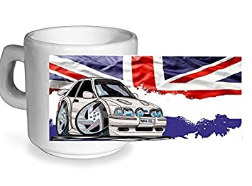 Diseño británico Koolart Classic para guardar dispositivos antiguos Skool Retro Mk4 Ford Escort RS Turbo -