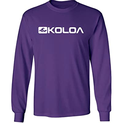 Koloa Surf Long Sleeve 50/50 Cotton/Poly Graphic T-Shirts in Regular, Big & Tall
