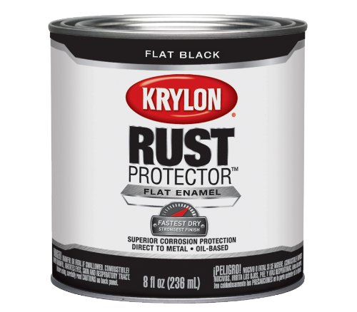 krylon-69108-rust-protector-with-brush-on-8-ounce-preventative-enamel-flat-black