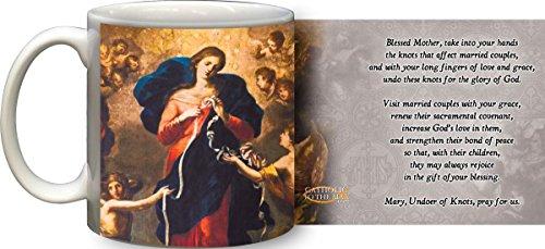 Mary Undoer of Knots Marriage Prayer Mug