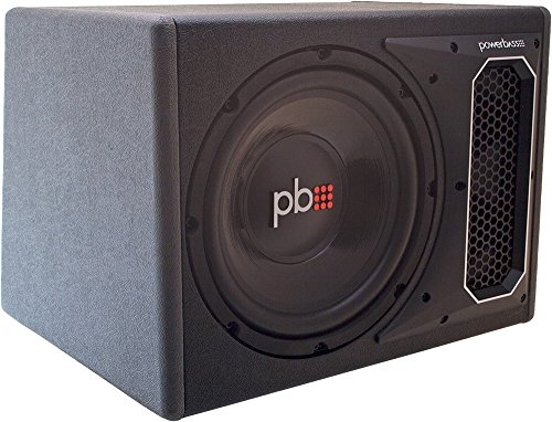 """Powerbass PS-WB121 550W Single 12"""" Loaded Subwoofer Enclosure SVC 4 Ohm"""