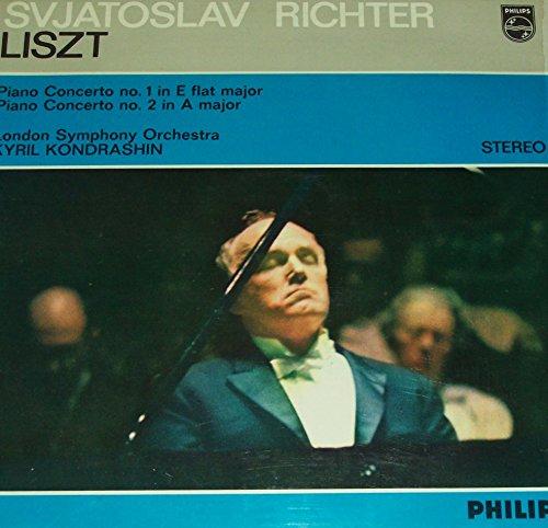 Liszt: Piano Concerto No.1 in E Flat Major / Piano Concerto No.2 in A Major