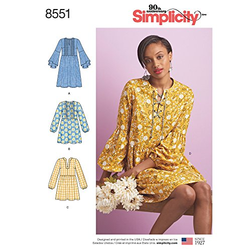 Simplicity Creative Patterns Misses' Dress or Tunic Pattern P5 (12-14-16-18-20)
