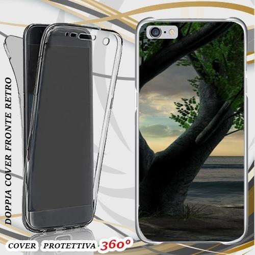 CUSTODIA COVER CASE BONSAI TREE PER IPHONE 6 FRONT BACK
