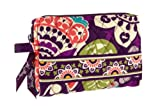 Vera Bradley Small Cosmetic (Plum Crazy), Bags Central
