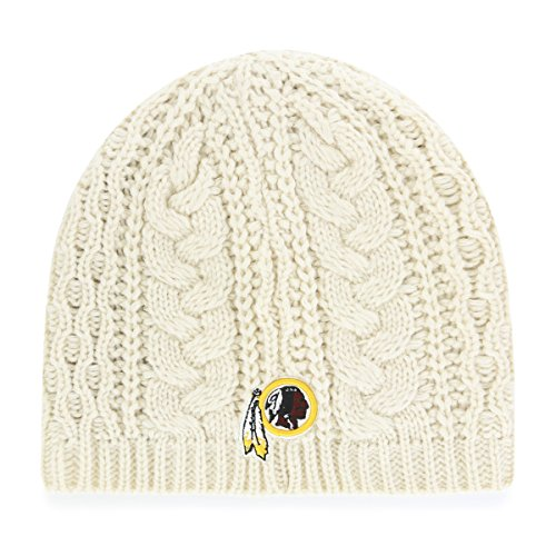 OTS NFL Washington Redskins Women's Waco Beanie Knit Cap, Natural, Women's (Washington Nationals Green Hat)