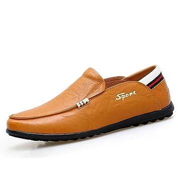 HhGold Calzado para Hombre, 2018 New Spring Autumn Leather Driving Shoes, Mocasines y Zapatillas