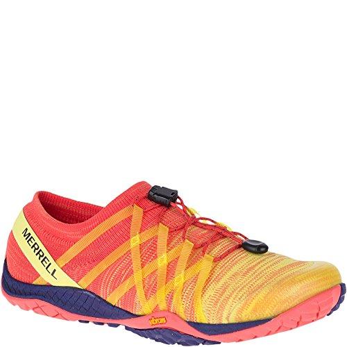 Merrell Women's Trail Glove 4 Knit Hot Coral 9 M US