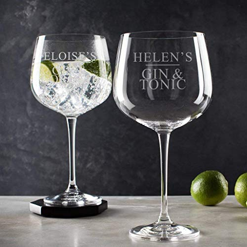 Personalised Gin Glass Related Gifts Christmas For Her Birthday