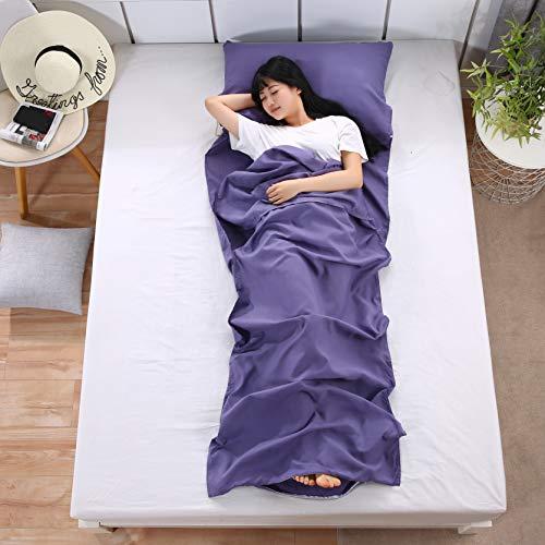 EAHUHO Sleeping Bag Liner Sheet Lightweight - Travel Sleeping Bag...