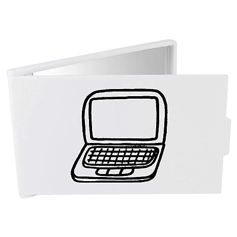 Azeeda Ordenador Portátil Espejo Compacto / de Bolsillo (CM00014535)