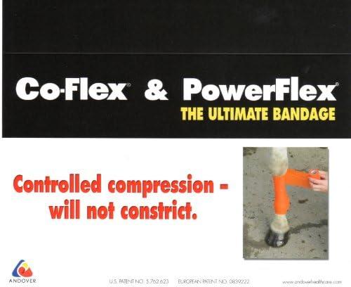 CoFlex-Vet 4 x 5 Yds. Andover Flexible Cohesive Bandage 3 Pack Rainbow