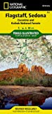 Flagstaff, Sedona [Coconino and Kaibab National Forests] (National Geographic Trails Illustrated Map)