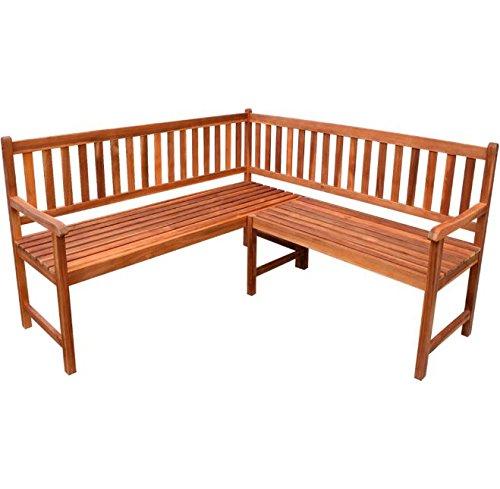 outdoor corner bench - 7