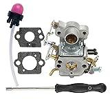 HIPA 545070601 Carburetor + Adjustment Tool for Poulan Pro PP3416 PP3516 PP3516AVX PP3816 PP3816AV PP4018 PP4218 PP4218AV PP4218AVHD PP4218AVL PP4218AVX PPB3416 SM4218AV Gas Chainsaw
