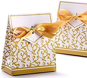 wedding cake take home bags 100 silver wedding favour favor sweet cake boxes bags 8786