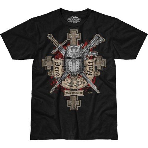 7.62 Design 'Deus Vult' Premium Men's T-Shirt LG