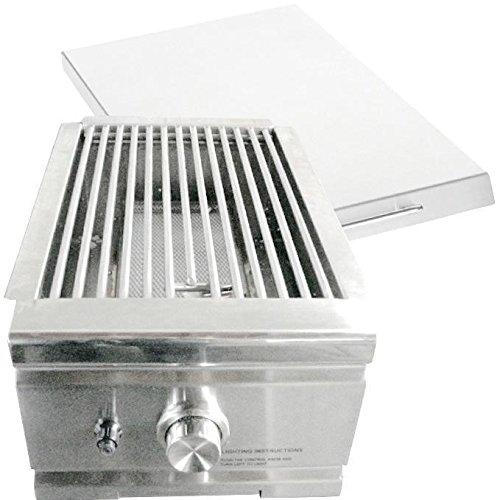 Summerset Built-in Natural Gas Infrared Side Burner - Ssear-1-ng