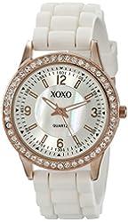 XOXO Women's XO8038 Rhinestone-Accented Watch