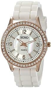 Xoxo women 39 s xo8038 rhinestone accented watch watches for Watches xoxo